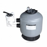 S Side Mounted SAND FILTERS COMPLETE SET WITH MULTI-PORT VALVE 0